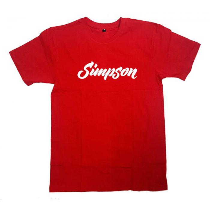 """Футболка с надписью """"Simpson"""""""