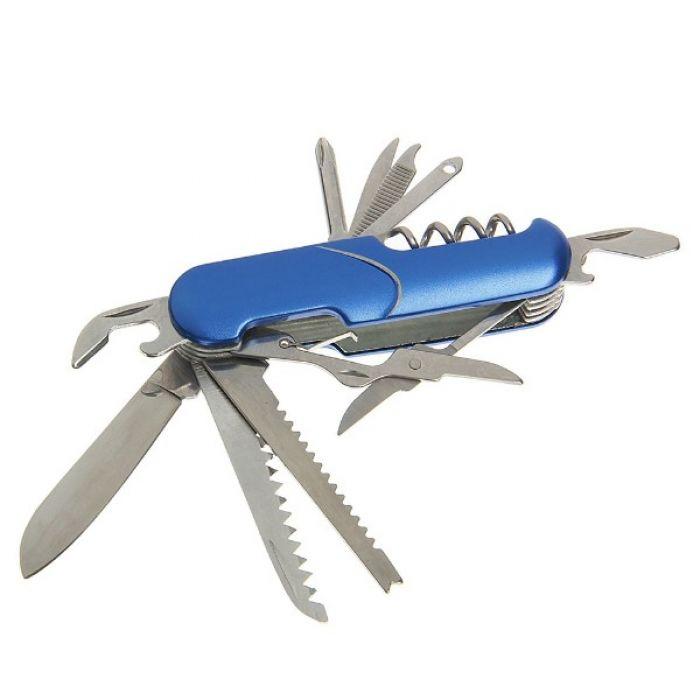 """Складной нож универсальный 11в1 """"Галочка"""", лезвие 5 см, рукоять микс"""