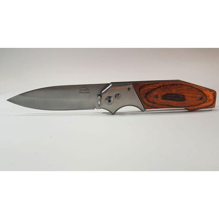Складной нож Stainless Steel Wood - 7
