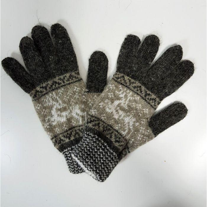 Перчатки с оленем (унисекс)
