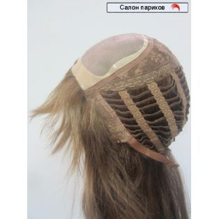 парик из натуральных волос 100106 Mono (цвет темно-русый)