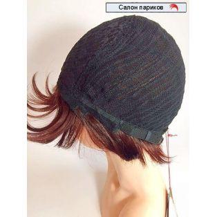 Парик на сетке из натуральных волос 566