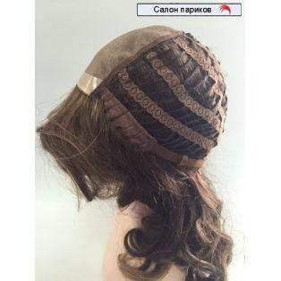 натуральный парик без челки с волнистыми волосами DW 1694 Mono