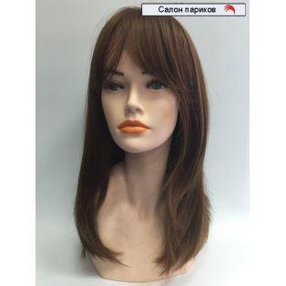 облегченный парик из канекалона с моно сеткой 4419