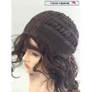парик натуральный кудрявый без челки 173