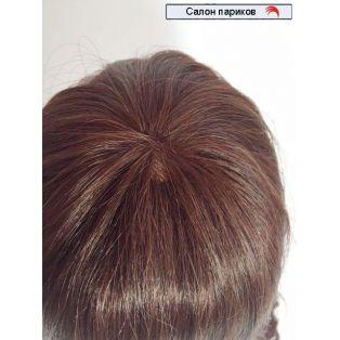 Натуральный парик на сетке 564