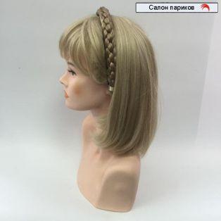 Косичка ободок из волос