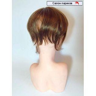 Накладная челка из натуральных волос