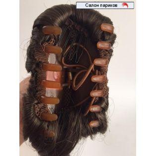 коса из искусственных волос на крабе