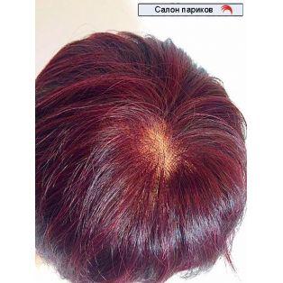 облегченный парик из натуральных волос 1055