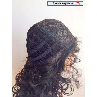 кудрявый парик из искусственных волос 9369