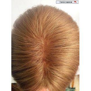 Накладки из натуральных волос на теменную часть rp 14