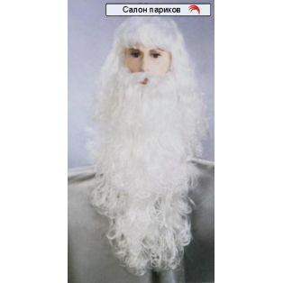 "Парик ""Дед Мороз"""