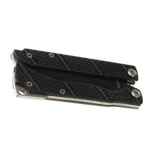"""Складной нож """"Бабочка"""", лезвие drop-point 7,5 см, рукоять Чешуйка, черный"""