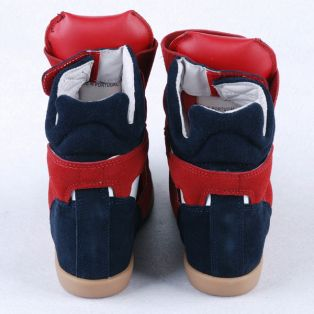 Кроссовки-сникерсы Isabel Marant Red White Navy