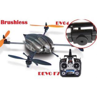 Квадрокоптер (б/к) Brushless Hoten-X FPV + Devo F7