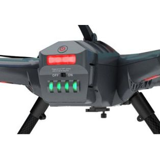 Квадрокоптер Scout X4  FPV 2 + DEVO F12E ( FPV radio ) с аккумулятором, з/у, 3D-подвесом, камерой iLook+, Ground station