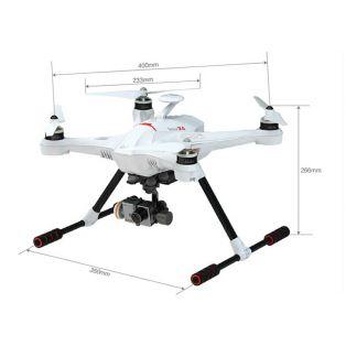 Квадрокоптер - Scout X4  FPV 4 DEVO F12E ( FPV radio ), 3D подвес, TX5804 (CE), кабель GoPro