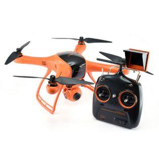 """Квадрокоптер Wingsland Minivet с экраном 2.5"""" FPV для аэрофотосъемки (передача видео, камера, подвес)"""