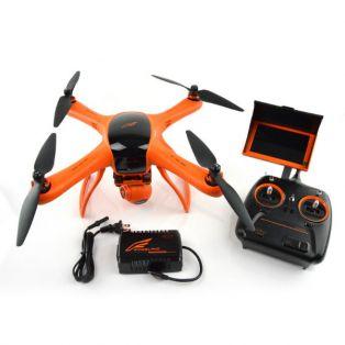 """Квадрокоптер Wingsland Minivet с экраном 5"""" FPV для аэрофотосъемки (передача видео, камера, подвес)"""