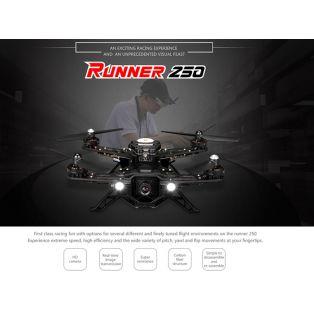 Квадрокоптер - Runner 250 Race (Devo 7, Аккум, З/У, камера, модуль передачи видео, OSD)