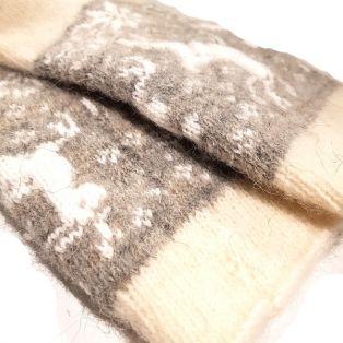 Носки унисекс, натуральная шерсть, светлые размер 36-40