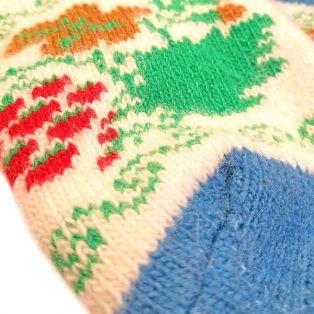 Носки шерстяные, женские, с милой собачкой, размер 35-39