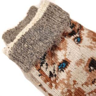 Носки шерстяные, мужские, с собачкой, размер 40-45