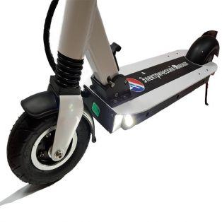 Электросамокат Monster Wheel E12 белый