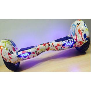 """Гироскутер Smart Balance """"Графити""""(bluetooth-music) 10 дюймов"""
