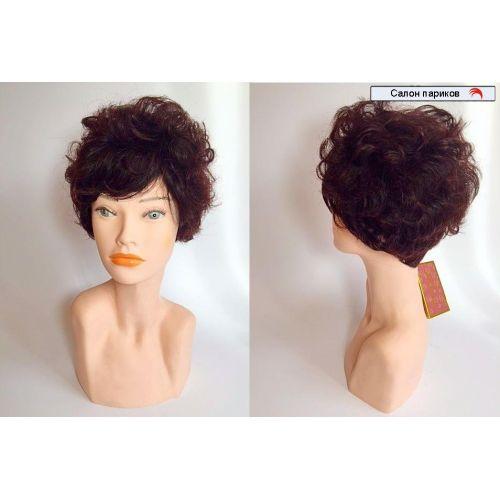 Кудрявый парик из натуральных волос 569