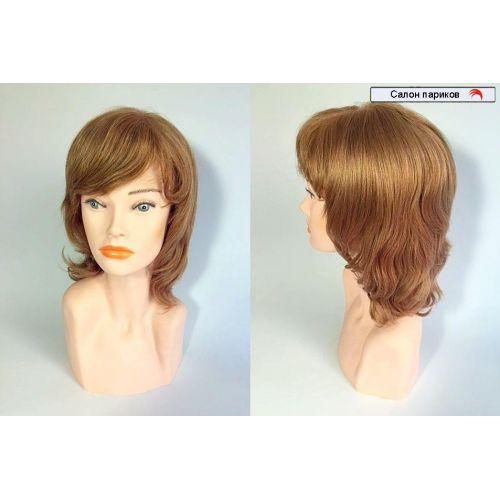Парики из натуральных волос с имитацией кожи 64640