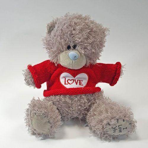 Плюшевый медведь Love - 20 см