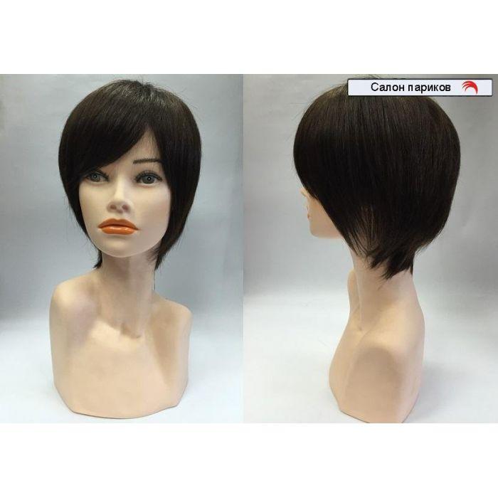парик из натуральных волос на сетке 1091