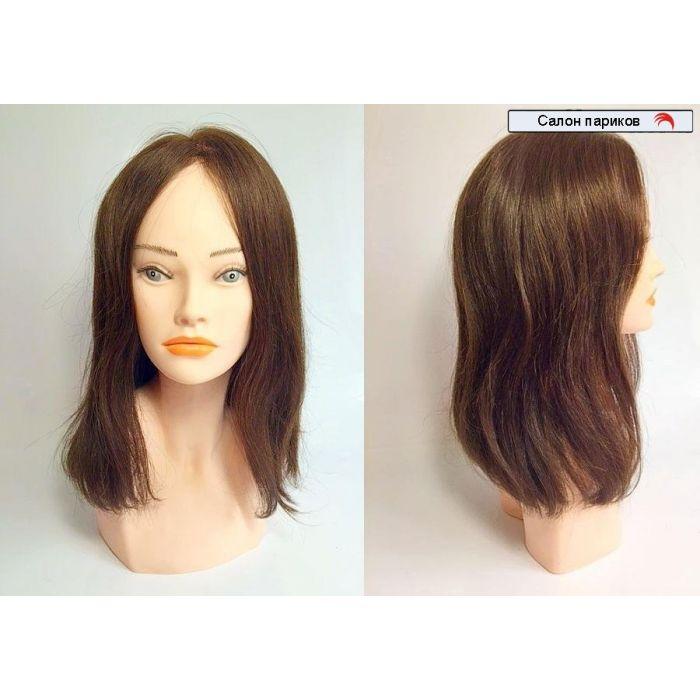 парик 100% натуральный без челки CR-001 Mono