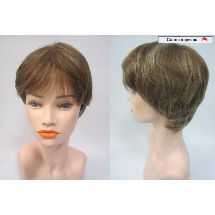 парик из натуральных волос на маленькую голову Mono 703