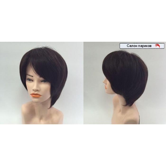 натуральный парик на сетке 1068
