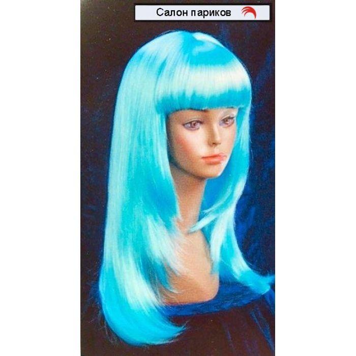 Длинный цветной парик 8882