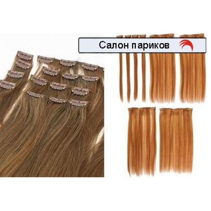 Натуральные волосы на заколках premium too