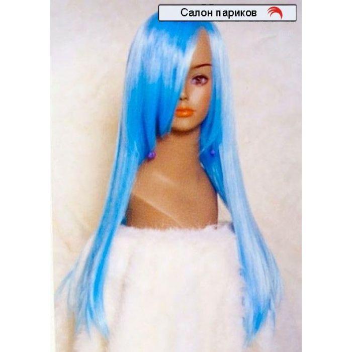 Длинный цветной парик 7312