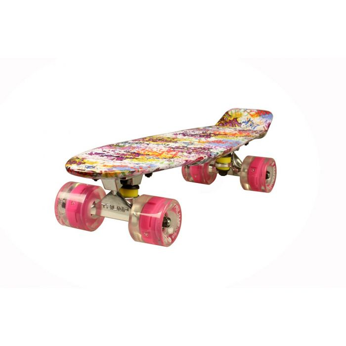"Скейтборд Triumf Active 22"" TLS-401G SWEETY"