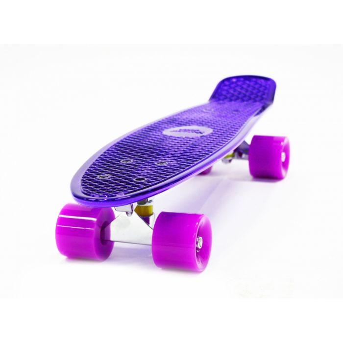 Пенни борд Hubster Cruiser 22 Metallic purple