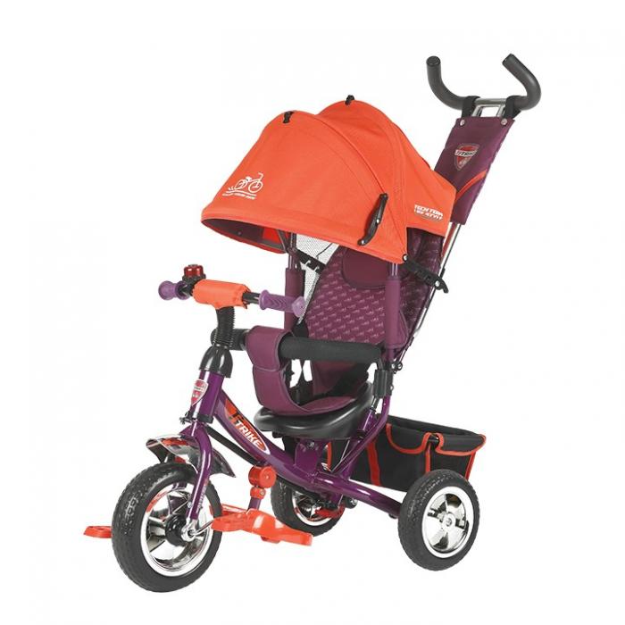 Трехколесный велосипед TechTeam 950D (красный)
