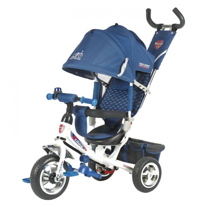 Трехколесный велосипед TechTeam 950D (синий)