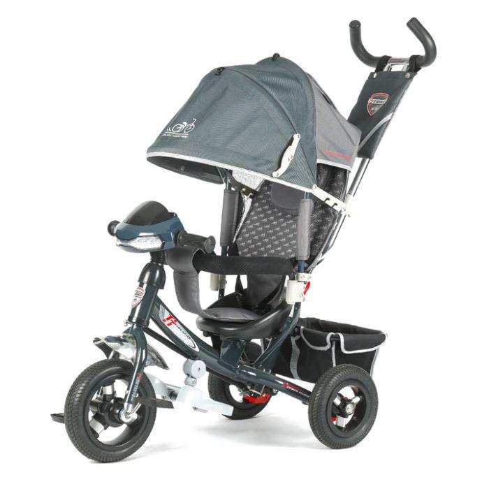 Трехколесный велосипед TechTeam 950D-ATMH (серый)