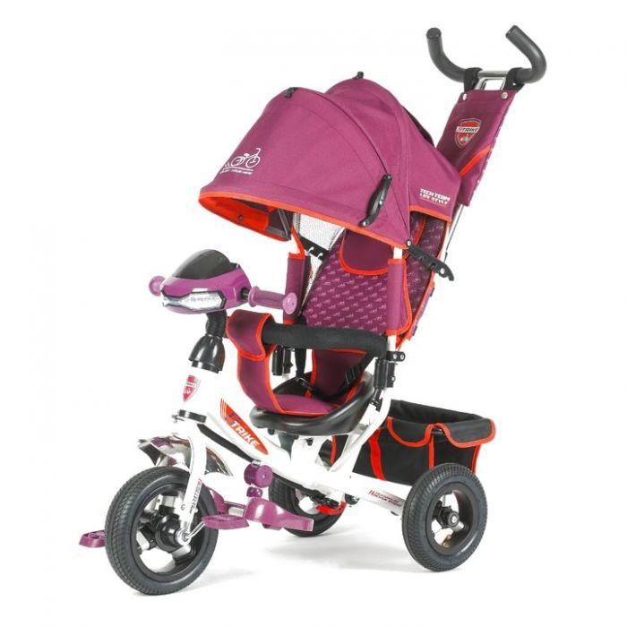 Трехколесный велосипед TechTeam 950D-ATMH (фиолетовый)