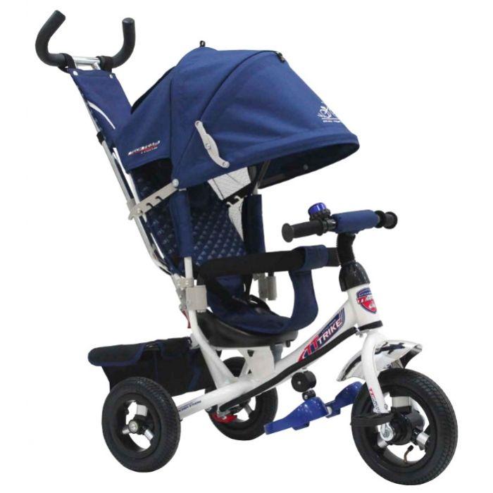 Трехколесный велосипед TechTeam 950D-AT (синий)
