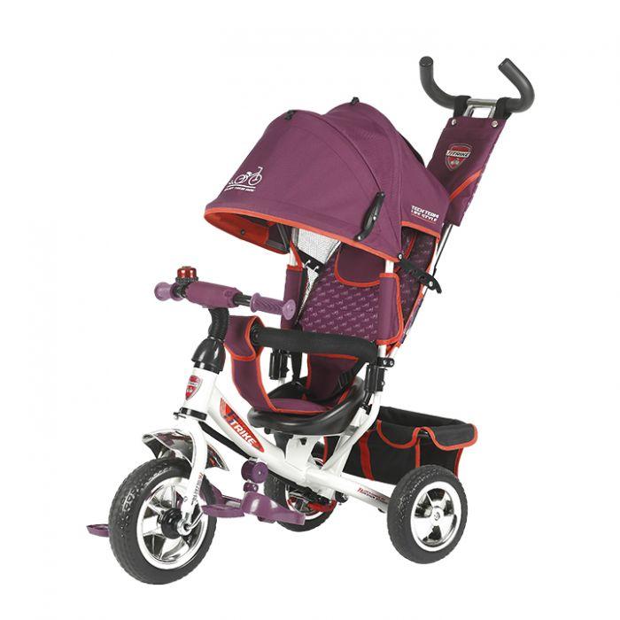 Трехколесный велосипед TechTeam 950D (фиолетовый)