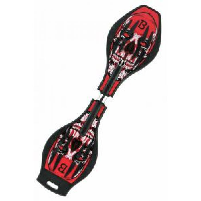Двухколесный скейт Dragon Board Deadhead B, цвет красный