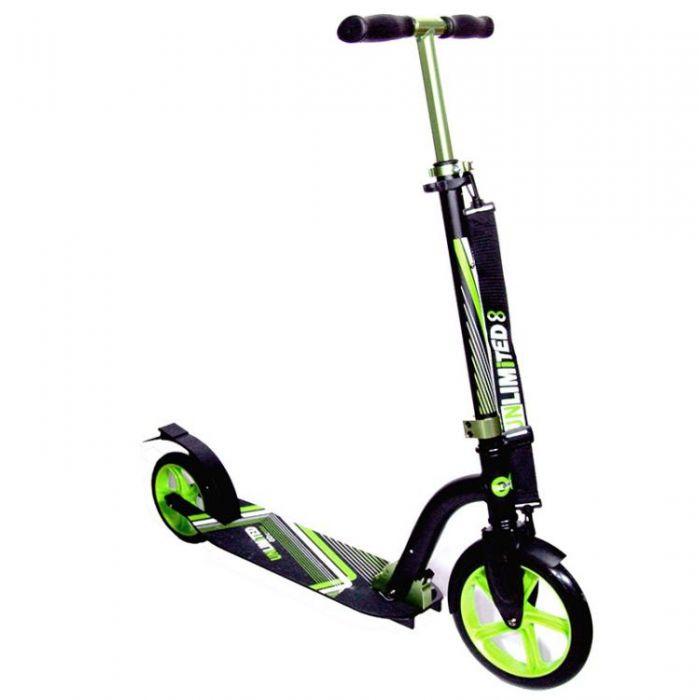 Самокат Unlimited NL300 R зеленый